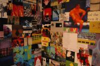 close-up wall